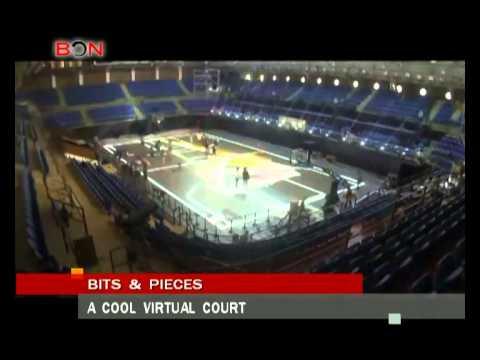 A cool virtual court- Aug. 19th.,2014 - BONTV China