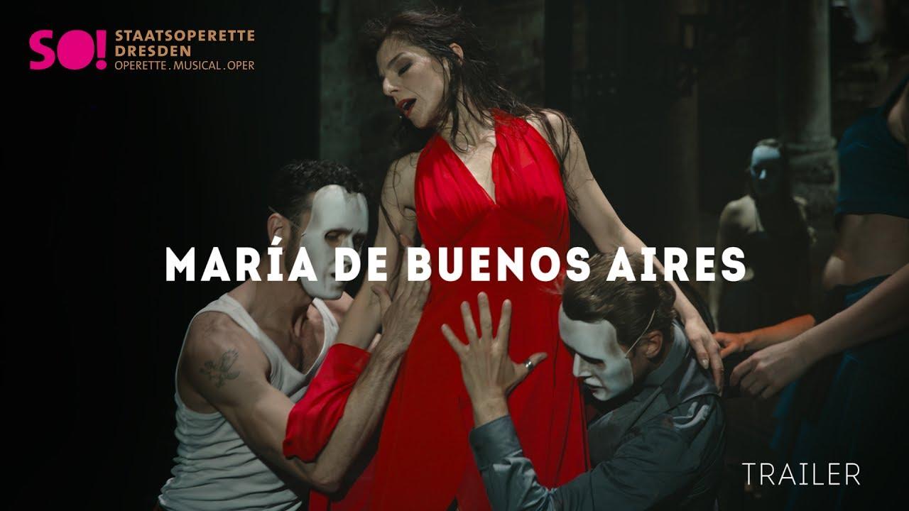 »María de Buenos Aires« TRAILER (Staatsoperette Dresden)