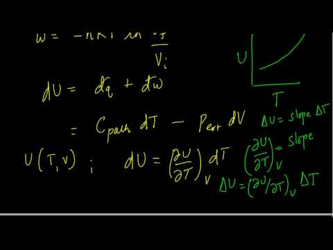 Thermodynamics Lecture 3, IIT Delhi: Energy and Enthalpy