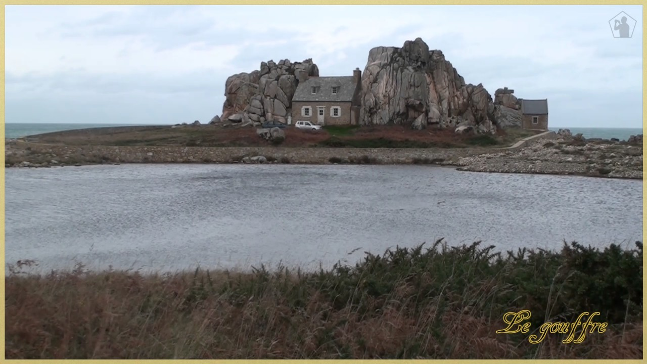 Post Card Le Gouffre/ Plougrescant / Cotes d'Armor / Brittany / France - YouTube