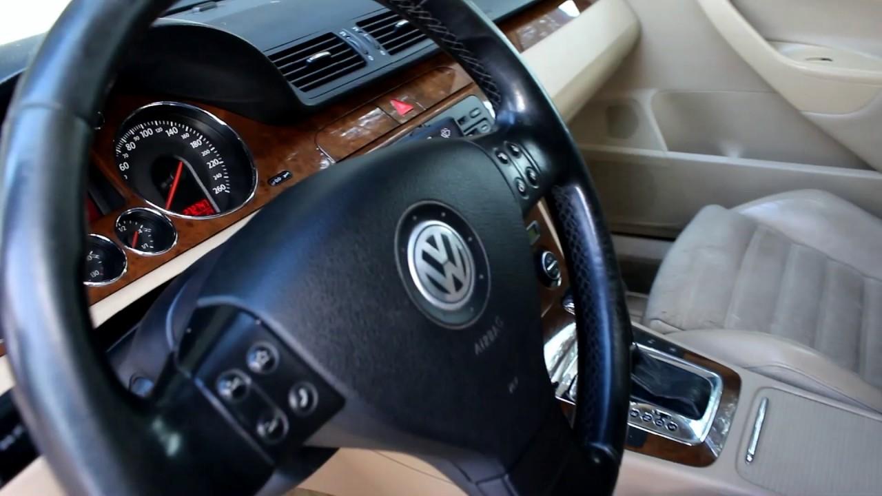 2008 Volkswagen Passat B6. Start Up, Engine, and In Depth Tour .