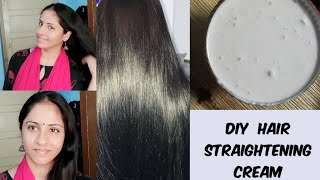 Permanent Hair Straightening with Natural Ingredients | Hair straightening at home naturally tamil