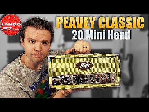 Peavey Classic 20 Mini Amplifier - Walkthrough & Demo