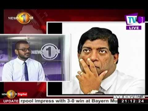 Presidential Commission: Minister Karunanayake claims no knowledge of apartment lease until recently
