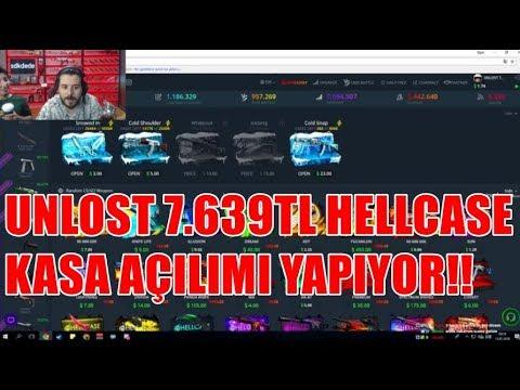 UNLOST 7.640TL HELLCASE KASA AÇILIMI YAPIYOR SÜPRİZLİ!!