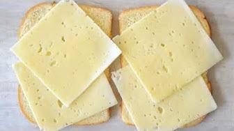 9 cách sử dụng Phô Mai - Grilled Cheese 9 Ways