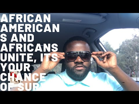 AFRICAN AMERICANS AND AFRICANS: YOU HAVE NO FRIENDS, DEVELOP AFRICA OR FACE EXTERM$NATION