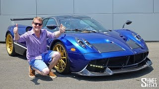 My Drive in a PAGANI HUAYRA Became a Hypercar Frenzy!