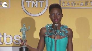 Lupita Nyong'o   Press Room   SAG Awards