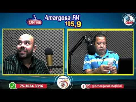 Entrevista do pré-candidato a prefeito, Alan Andrade, na rádio Amargosa FM 105,9 from YouTube · Duration:  48 minutes 8 seconds