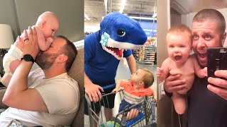 Cute Baby And Hilarious Dads   Funny Moments