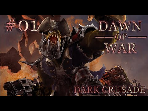 Dawn of War - Dark Crusade. Part 1 - (+8 Provinces). Ork Campaign. (Hard)