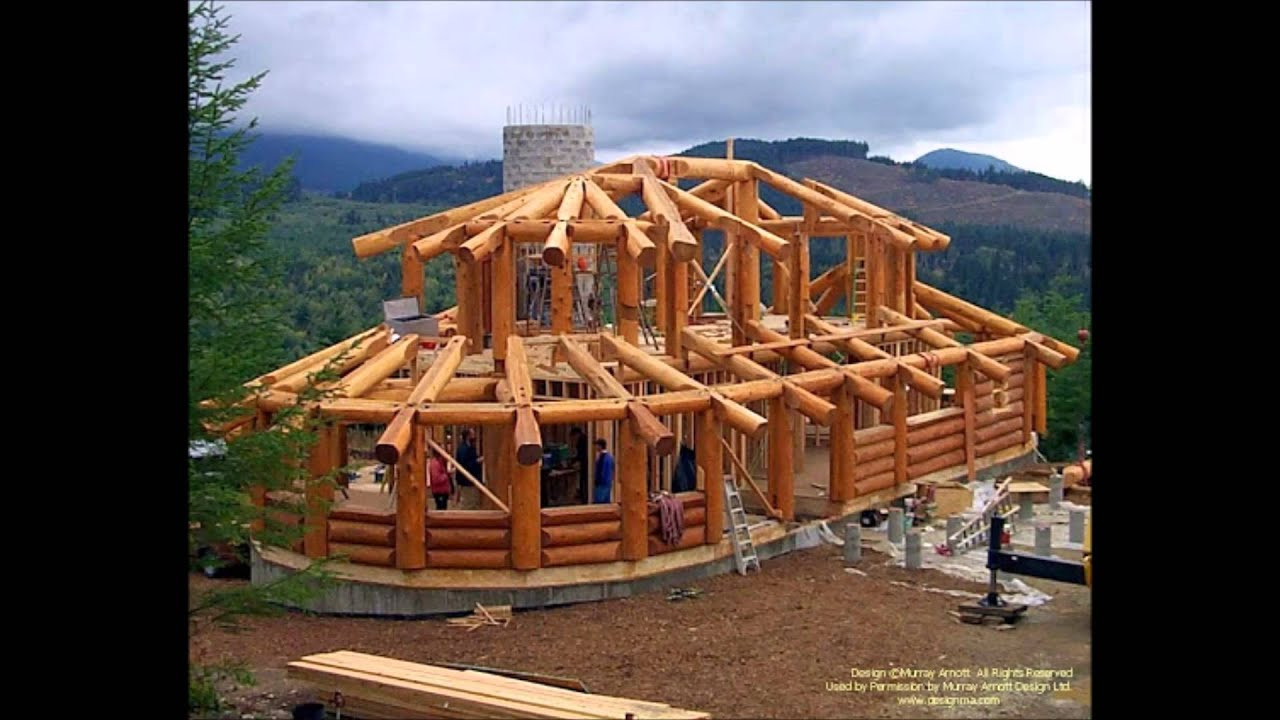 Post And Beam Log Homes Youtube