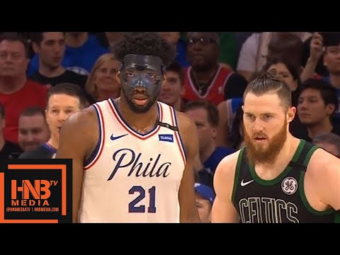 Philadelphia Sixers vs Boston Celtics 1st Half Highlights / Game 3 / 2018 NBA Playoffs