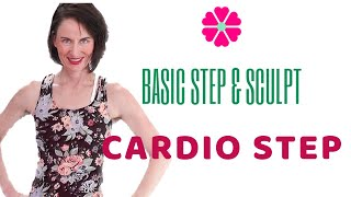 50 MINUTE WORKOUT |  BASIC STEP AEROBICS | CARDIO STEP AEROBICS | STEP ROUTINE |BEGINNER STEP|  AFT