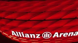 Allianz Arena Dronned in 4K Bayern Munchen Drohne 4K Allianz Arena Drone