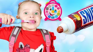 Put On Your Shoes Let's Go To  School Song   Nicole Clothing Sing-Along Kids Song