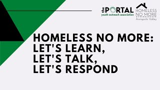 Homeless No More - Panel Discussion
