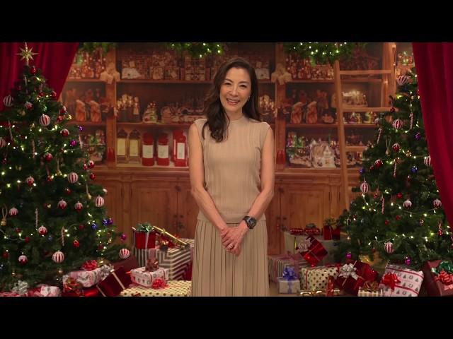 【去年聖誕節】楊紫瓊問候篇 - 12月6日 心心相印