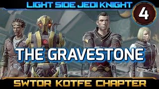 SWTOR Knights of the Fallen Empire ► CHAPTER 4, The Gravestone - Light Side Jedi Knight (KOTFE)