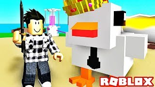 LE POULET LE PLUS GRAND DU MONDE ! | Roblox Egg Farm Simulator