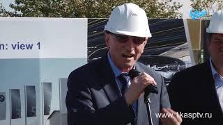 видео В аэропорту Запорожье началось строительство терминала