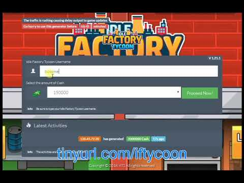 Idle Factory Tycoon Super Cash Cheats iOS Android