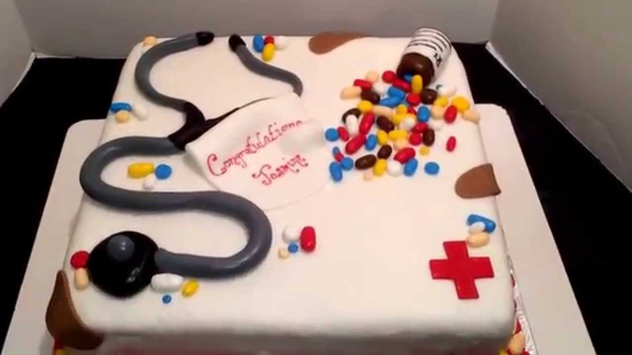 Cake Decorating Nurses Theme : Nursing theme cake all edible!! Made by the ...