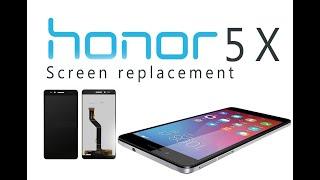 Huawei Honor 5X (KIW-L21) LCD Screen & Digitizer Replacement / Wymiana wyświetlacza| Selekt