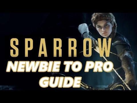 Paragon : Sparrow Newbie to Pro Build Guide - No Knee is Safe
