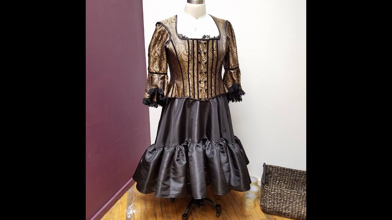 STEAMPUNK Costume Fashion - Corseted Plus size - Handmade Fashion -  KMKDesigns