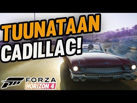 Forza Horizon 4 | Tuunataan Cadillac! #FH4 thumbnail