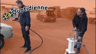 La quotidienne : Test client d'une sableuse aérogommeuse semi automatique B-B_6