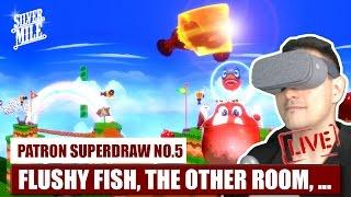 PATRON SUPERDRAW: FLUSHY FISH, THE OTHER ROOM, VVR, GUNJACK 2,...