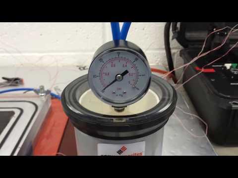 VARTM manufacturing process - Mechanical Engineering 2017