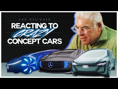 Designer Of McLaren P1, Mini Cooper & Maserati MC12 Reacts To CRAZY Concept Cars!