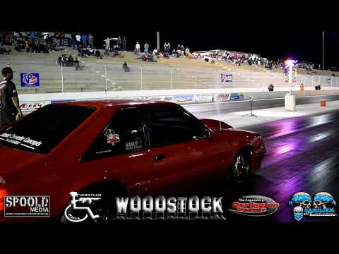 Ol Red .vs. Night Train Grudge Race at Wooostock!!!!!!