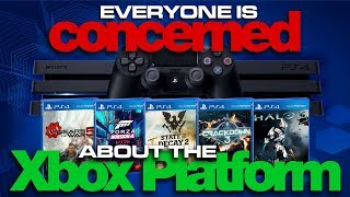 Everyone is Concerned about Xbox GOING AWAY - Xbox Games on PS4? - Colteastwood 4K60