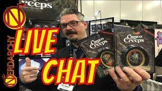 D&D Art to Cameo Creeps Chris Seaman- Nerdarchy Live Chat #302