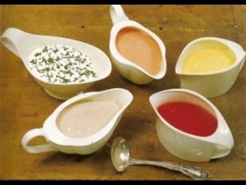 ДОМАШНИЕ СОУСЫ. Простые рецепты приготовления соусов в домашних условиях