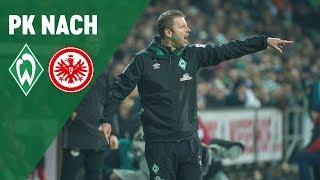 Pressekonferenz mit Florian Kohfeldt & Adi Hütter | SV Werder Bremen - Eintracht Frankfurt 2:2
