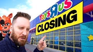 Toys R Us is Closing! Toy Shopping for Ben 10, Games, Black Panther & More!