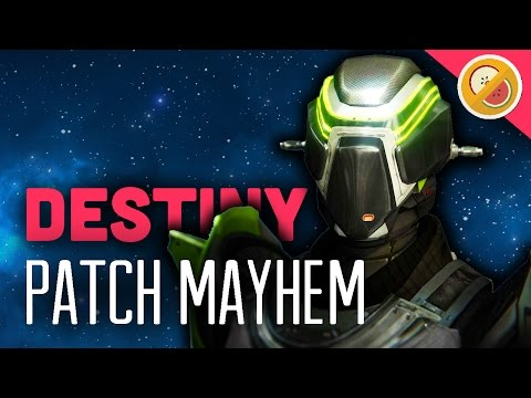 Destiny Patch Mayhem - The Dream Team (Funny Moments)