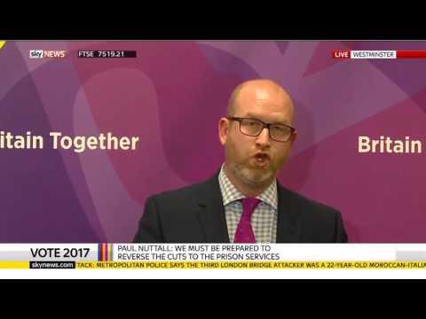 UKIP Paul Nuttall Powerful Speech in London