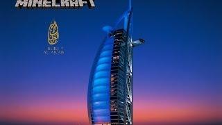 Dubai Hotel/ burj al arab Minecraft Projekt