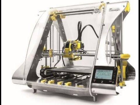 ZMorph 3D printer live printing