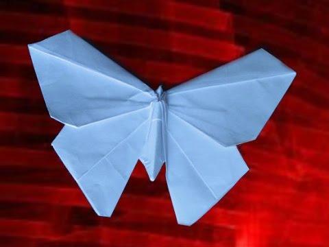 ОРИГАМИ - БАБОЧКА из бумаги