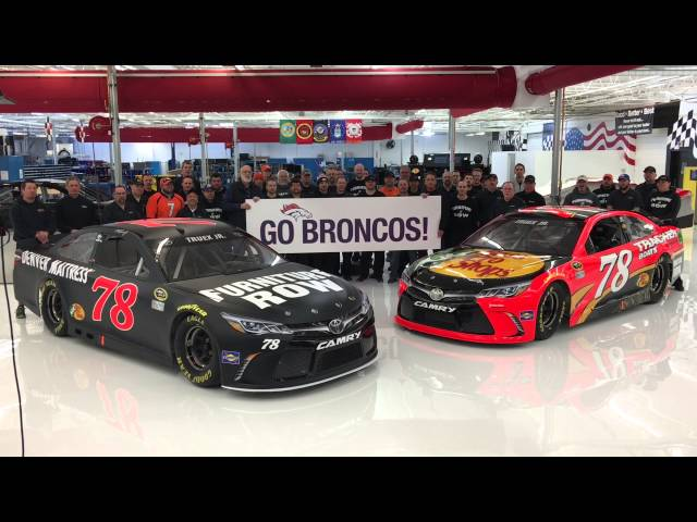 Watch Furniture Row Racing Revs Its Engines In Support Of Denver