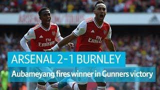 Arsenal vs Burnley (2-1) | Premier League highlights