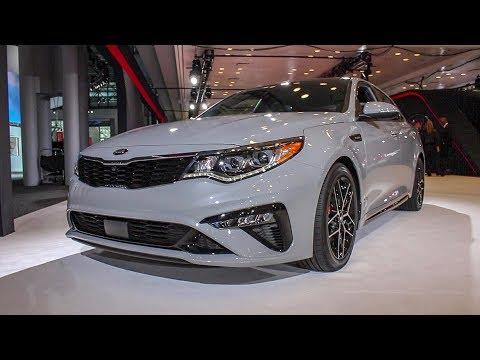 New York Auto Show -  Kia Optima Turbo Unveiling and Walk Around